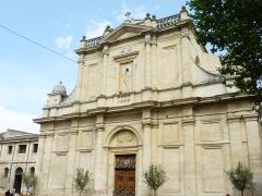 Eglise paroissiale Notre-Dame-des-Anges - Français:   Collégiale Notre-Dame-des-Anges de L\'Isle-sur-la-Sorgue