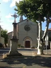 Eglise paroissiale Notre-Dame-des-Anges - Français:   Église paroissiale Notre-Dame-des-Anges de L\'Isle-sur-la-Sorgue
