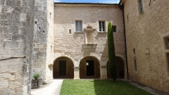 Ancienne abbaye Saint-Hilaire - This building is indexed in the Base Mérimée, a database of architectural heritage maintained by the French Ministry of Culture,under the reference PA00082075 .