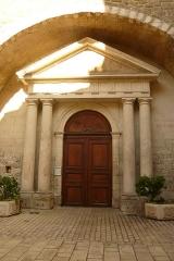 Eglise Notre-Dame-de-Nazareth (ancienne cathédrale) - English: West entrance Cathedral of Notre-Dame-de-Nazareth in Orange