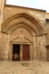 Eglise Notre-Dame-de-Nazareth (ancienne cathédrale) - English: South entrance Cathedral of Notre-Dame-de-Nazareth in Orange