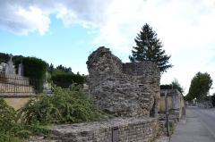 Rempart romain - Français:   Rempart romain d\'Orange porte de ville, enceinte (Classé Classé)