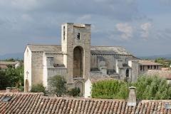 Eglise Notre-Dame-de-Nazareth - Français:   Eglise Notre-Dame-de-Nazareth de Pernes-les-Fontaines, vue depuis la tour de l\'horloge (Vaucluse, France).