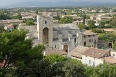 Eglise Notre-Dame-de-Nazareth - Français:   Église Notre-Dame-de-Nazareth de Pernes-les-Fontaines, vue depuis la tour de l\'horloge (Vaucluse, France).