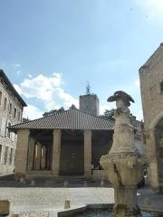Fontaine du Pélican - Français:   Fontaine du Pélican à Pernes les Fontaines