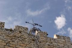 Tour de l'Horloge, dit aussi ancien château des comtes de Toulouse - Français:   Tour de l\'Horloge de Pernes-les-Fontaines (Vaucluse, France).