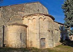 Ancienne abbaye Saint-Eusèbe - France - Vaucluse - Saignon - Abbaye Saint-Eusèbe