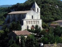 Eglise paroissiale Notre-Dame-de-Pitié - Français:   Saignon, Vaucluse