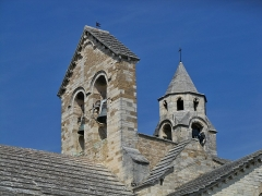 Eglise paroissiale Notre-Dame-de-Nazareth - Français:   clocher de l\'Église Notre-Dame-de-Nazareth de Valréas