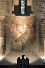 Eglise paroissiale Notre-Dame-de-Nazareth - Français:   fresque abside de l\'Église Notre-Dame-de-Nazareth de Valréas