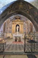 Eglise paroissiale Notre-Dame-de-Nazareth - Français:   chapelle latérale de l\'Église Notre-Dame-de-Nazareth de Valréas