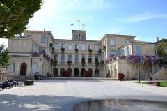 Hôtel de Simiane - extérieur du Chateau de Simiane à Valréas