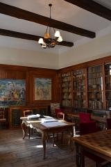 Hôtel de Simiane - Bibliothèque, au rez de chaussée du Château de Simiane de Valréas