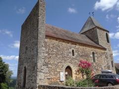 Eglise Saint-Pierre - Français:   Audrix - Église Saint-Pierre - Côté sud