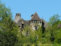 Château de la Faye - Français:   Le château de la Faye, Auriac-du-Périgord, Dordogne, France.
