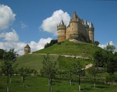 Château de Bannes - English: Château de Bannes near the village of Beaumont-du-Périgord, Département Dordogne/France.