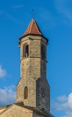 Tour de la Mairie - English: Tower of the town hall of Belvès, Dordogne, France