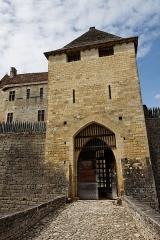 Château de Beynac -  Vue du château de Beynac.