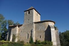 Eglise Notre-Dame de l'Assomption - Français:   L\'église romane de Bourg-du-Bost, Dordogne, France