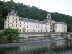 Ancienne abbaye - Français:   Abbaye Saint-Pierre de Brantôme (Dordogne, France)