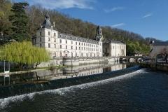 Ancienne abbaye - Français:   Bâtiments conventuels de l\'abbaye Saint-Pierre de Brantôme, dans le département de la Dordogne.