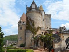 Château des Milandes - Français:   Château des Milandes