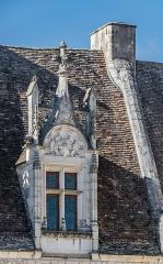 Château des Milandes - English:   Window of the castle of Milandes, commune of Castelnaud-la-Chapelle, Dordogne, France