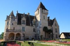 Château des Milandes - Français:   Château des Milandes construit en 1489 par le seigneur François de Caumont, arrière petit fils de Nompar IV  pour son épouse Claude de Cardaillac
