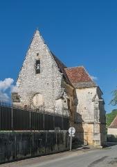 Eglise ou chapelle des Milandes - English:   Chapel of Milandes, commune of Castelnaud-la-Chapelle, Dordogne, France