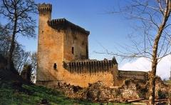 Château de Commarque - English: Château de Commarque en 1985