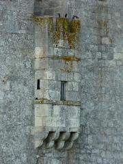 Château de Gageac - Français:   Latrines médiévales sur la façade nord du château de Gageac, Gageac-et-Rouillac, Dordogne, France.