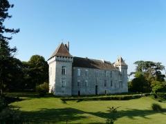 Château de Gageac - Français:   La façade nord du château de Gageac, Gageac-et-Rouillac, Dordogne, France.