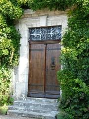 Château de Gageac - Français:   Porte du logis du château de Gageac, Gageac-et-Rouillac, Dordogne, France.