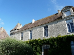 Château de Gageac - Français:   La façade sur cour du logis, château de Gageac, Gageac-et-Rouillac, Dordogne, France.