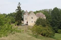 Château de Laroque - Français:   Château de Laroque,  (Inscription, 1948)