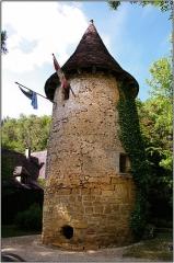 Manoir de Roucaudou - Français:   Manoir de Roucaudou, Manaurie.