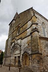 Eglise Saint-Dominique -  Vue de monument historique à Monpazier.