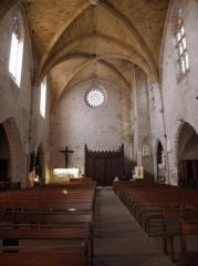 Eglise Saint-Dominique - Français:   Église Saint-Dominique de Monpazier (24).