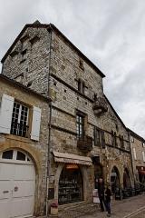 Ancienne grange aux dîmes, dite Maison du Chapître -  Vue de monument historique à Monpazier.