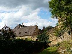 Château de Coulonges - Français:   Le côté sud-ouest du château de Coulonges, Montignac, Dordogne, France.