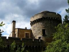 Château de Coulonges - Français:   La tour orientale du château de Coulonges, Montignac, Dordogne, France.