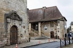 Ancien hôpital Saint-Jean ou ancien prieuré -  Un monument historique de Montignac.