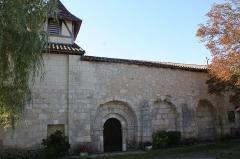 Eglise Saint-Denis - Français:   Église Saint-Denis (Inscription)