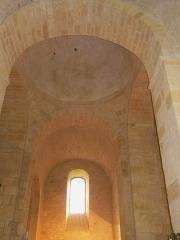 Eglise Saint-Léonce - Français:   La coupole de l\'église Saint-Léonce, Saint-Léon-sur-Vézère, Dordogne, France.
