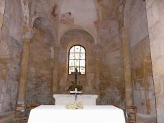 Eglise Saint-Léonce - Français:   Le chœur de l\'église Saint-Léonce, Saint-Léon-sur-Vézère, Dordogne, France.