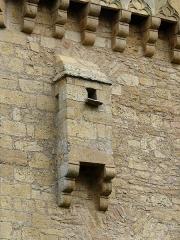 Manoir de la Salle et prieuré attenant - Français:   Latrines du manoir de la Salle, Saint-Léon-sur-Vézère, Dordogne, France.
