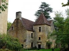 Manoir de la Salle et prieuré attenant - Français:   L\'ancien prieuré du manoir de la Salle, Saint-Léon-sur-Vézère, Dordogne, France.