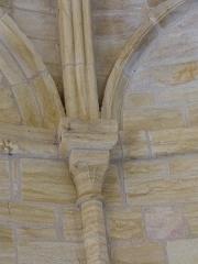 Cimetière Saint-Benoît, enfeux et chapelle sépulcrale - English: Sarlat-la -Canéda ( Dordogne ). Lanterne of the dead - Interior.