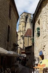 Ancienne église Sainte-Marie -  Vue de l'ancienne église Sainte-Marie de Sarlat.