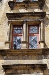 Hôtel de Maleville dit Hôtel de Vienne (maison Renaissance) -  Vue de l'hôtel de Maleville (ou hôtel de Vienne) à Sarlat.